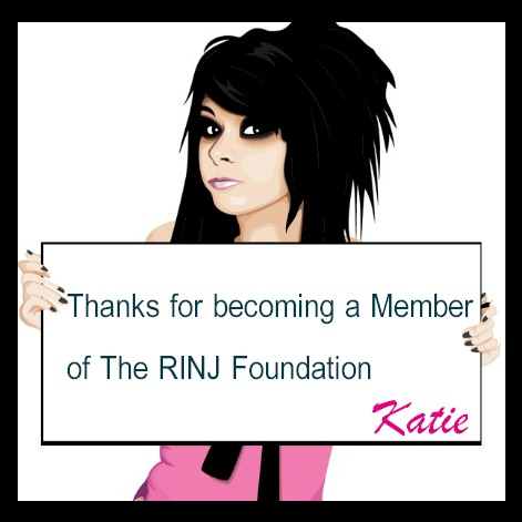 Thenks For Becoming A Member Of The RINJ Foundation