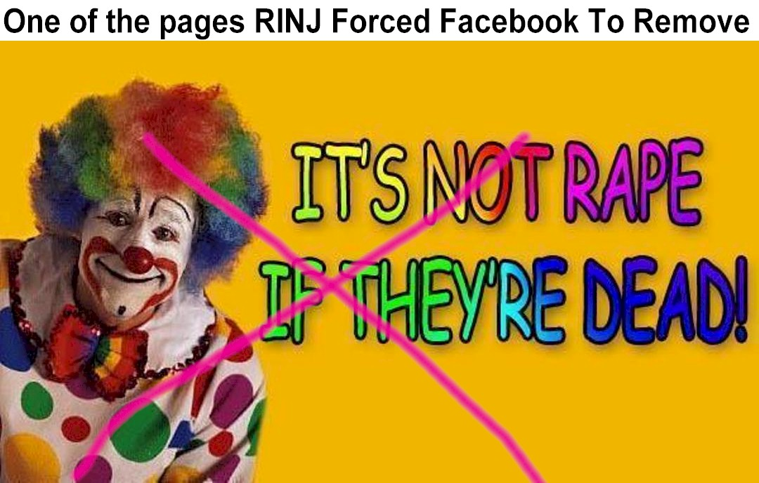 A series of pro-rape and 'rape joke' content on Facebook drew attention from the media and women's groups.