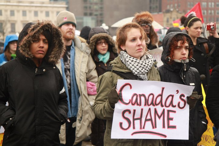 Canada's Shame - Missing Aboriginal Women and Children and Canada's Rape Culture