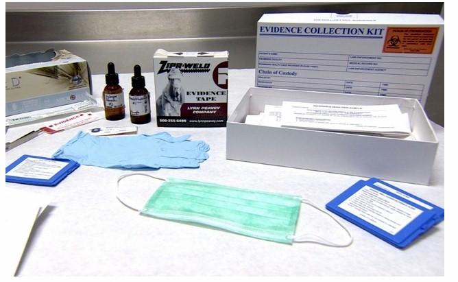 Image result for rape victim detection kit