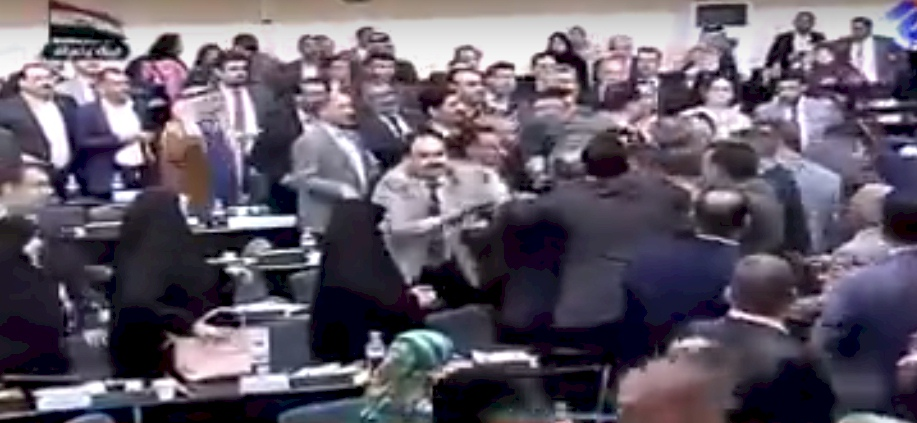 The RINJ Foundation - Iraqi Parliament-Fisticuffs-1