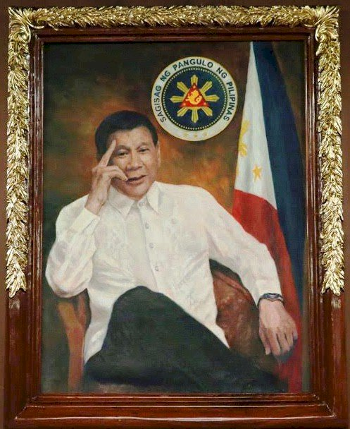 Hang this in your Barangay Hall - Despotic Leader Rodrigo Duterte