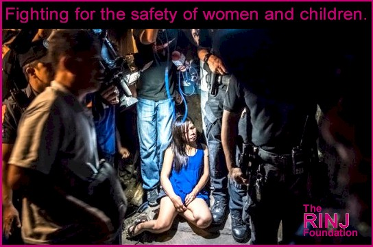fighting for the safety of women and children.