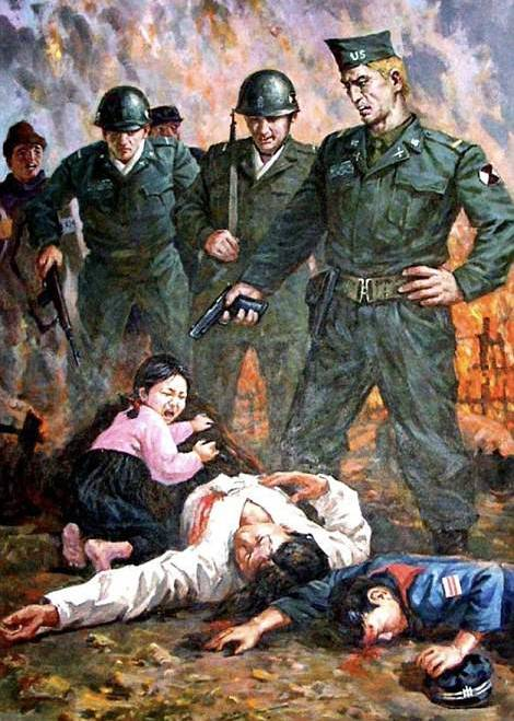 Atrocities against North Korean Civilians by the United states of America