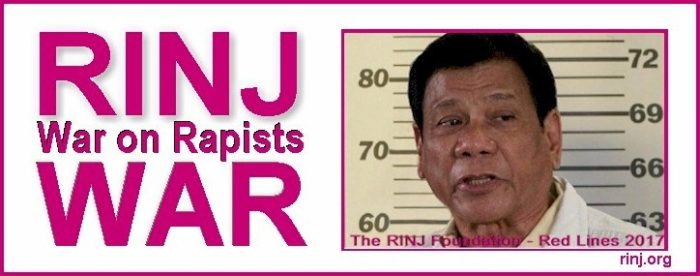 The Philippines rape culture has grown exponentially by each month Duterte is in office.