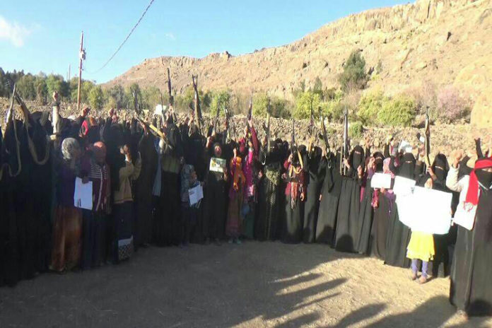 Women in Yemen Protest