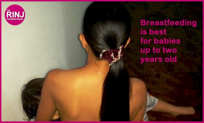 Breastfeeding is best for babies up to two years of age and more. Photo Credit: melisa Hemingway