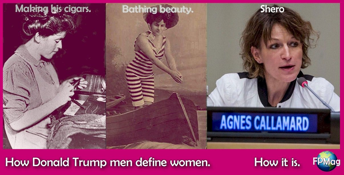 "How ""Trump Men"" see women. and how it really is."