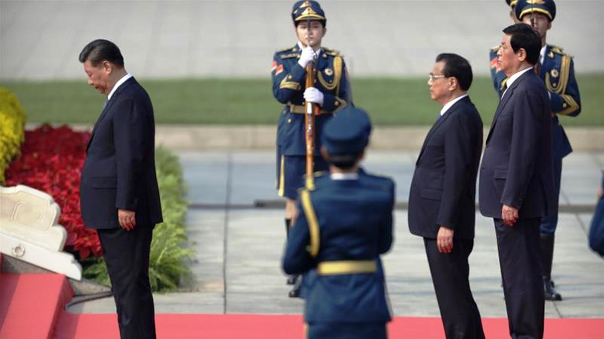 Xi Jinping pays respects to Mao Zedong