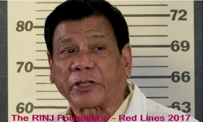Rodrigo Duterte, Under ICC 'examination' for crimes against humanity.