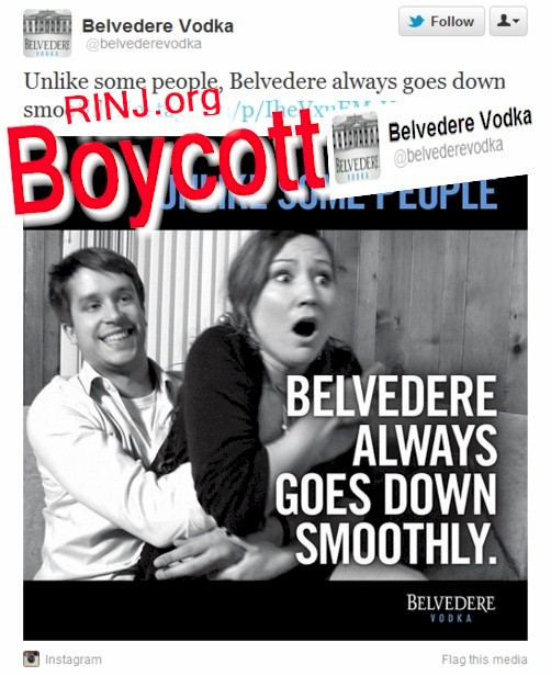 The Boycott Of Belvedere Vodka